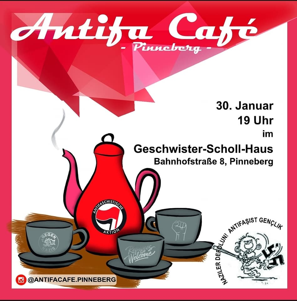 Antifa Cafe Pinneberg300120